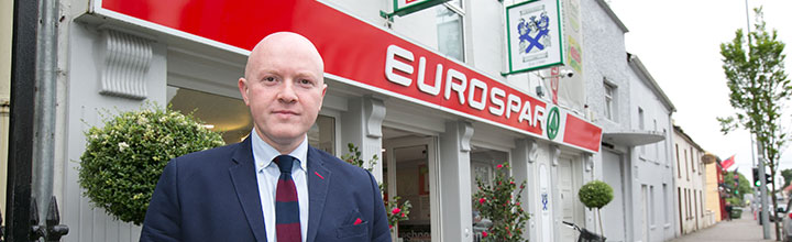 Eurospar wins award despite Footballer's comments about the town