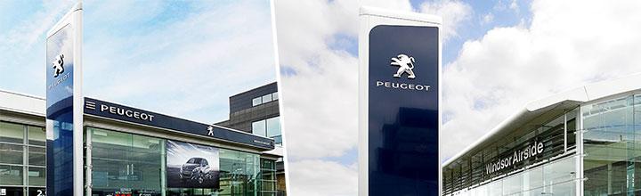 Peugeot, Windsor Airside